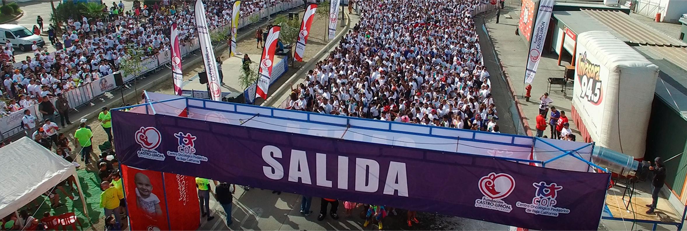 9 mil participantes a favor de una niñez sin cáncer en Corre con Espuma
